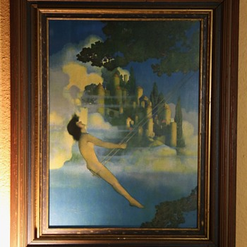 Dinky Bird by Maxfield Parrish - Visual Art