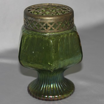 Green Footed Vase