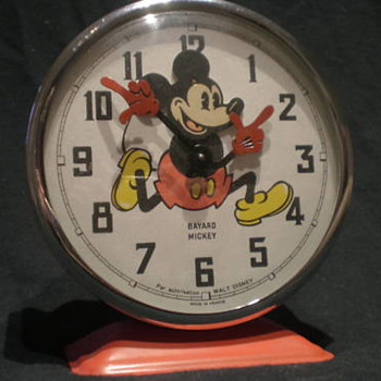 "The Bayard ""Wagging Head"" Mickey Mouse  Alarm Clock - Clocks"