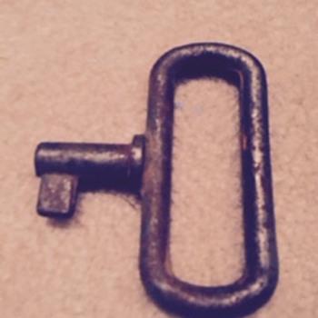 strange large key