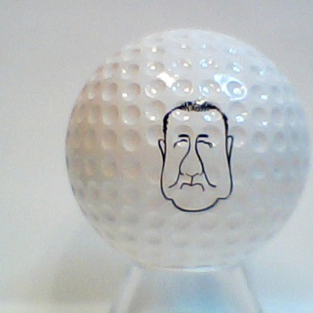 The infamous also get their name's on golf balls. - Sporting Goods