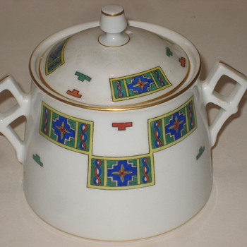 Russian Sugar Bowl by Kornilow Bros. - China and Dinnerware