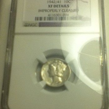 1942/41 Liberty Bust Dime - US Coins