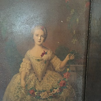 Pre civil war. Who is she?  - Visual Art