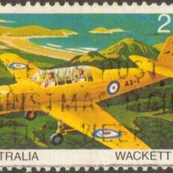 "1980 - Australia ""1941 Wackett"" Postage Stamp - Stamps"