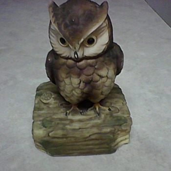 GORHAM SILVER MUSICAL OWL - Music