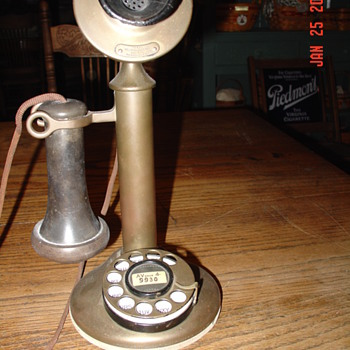 1915 Western Electric Candlestick Phone
