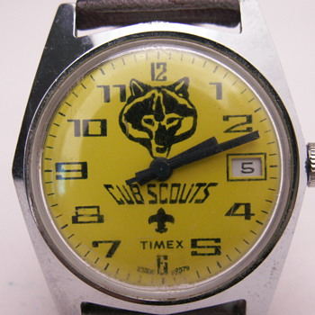 CUB SCOUTS by Timex