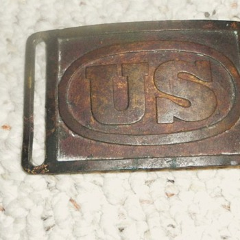 MILITARY BELT BUCKLE - Military and Wartime