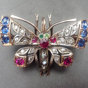 Victorian antique brooch