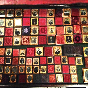 The perfect way to fill a map cabinet drawer - Victorian Era
