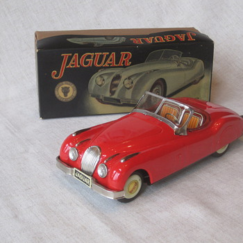 Tin Jaguars II - Model Cars