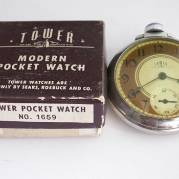 E. Ingraham, Tower  - Pocket Watches