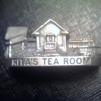 Rita's Tea House Miniature - Advertising
