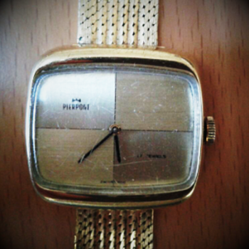 $4.00 Junk shop find &quot;Pierpont&quot; vintage watch