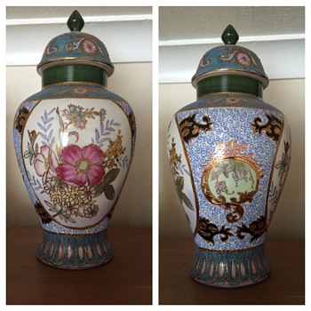 Beautiful vases passed down to me but I have no idea of their history. - Asian