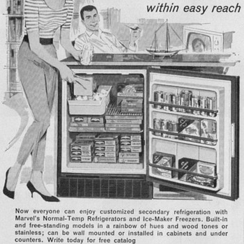 1968 - Marvel Compact Refrigerator Advertisement