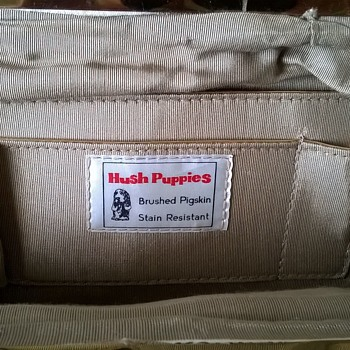 Vintage Hush Puppies Pigskin Handbag Flea Market Find $1.00