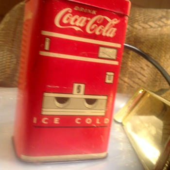 Coca Cola Tin bank?