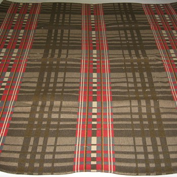 Vintage Heavy Wool Blanket - Rugs and Textiles