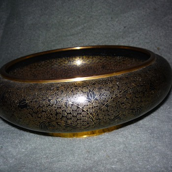 indian bowl, brass