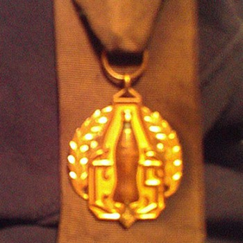 Gallon award medal w/ribbon