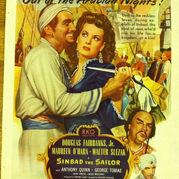 1946 Sinbad movie ad - Advertising