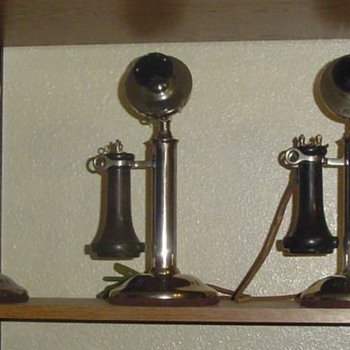 W.E. 20-B desk stands - Telephones