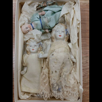 My Great Grandmas dolls