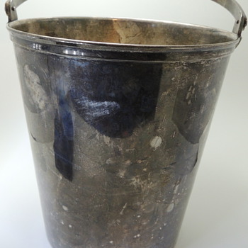 Huge Silver Plated Bucket - Kitchen