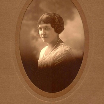 Family Photograph - Young Lady Relative