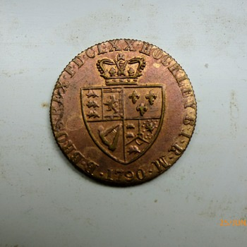 1790-birmingham-hockley-gaming token. - World Coins