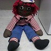 BLACK RAGGEDY ANDY DOLL