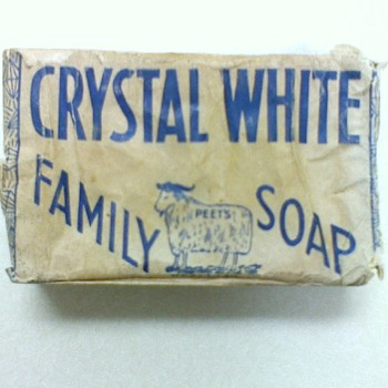 Antique Bar of Soap - Advertising