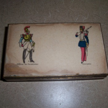 Mid-Century Cigarette Box/Case - Tobacciana