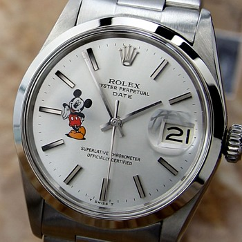 Mickey Mouse Rolex  - Wristwatches