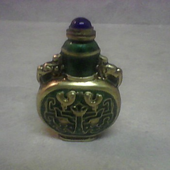 ENAMEL SNUFF BOTTLE