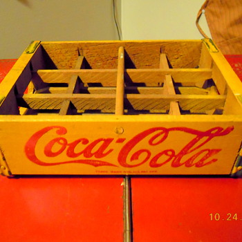 c. 1950 Coca-Cola 12-bottle Case - Coca-Cola