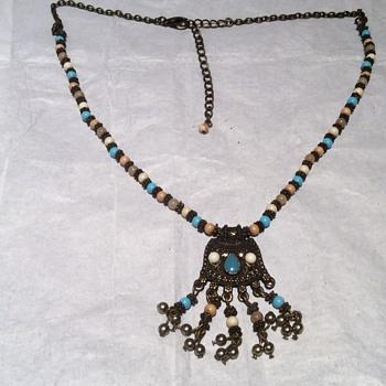 Antique looking necklace - Art Deco