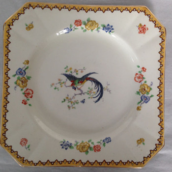 1954 Vintage Goodwood Myott Son & Co England Plate - China and Dinnerware