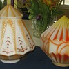 Two Art Deco Glass Lamps Shades