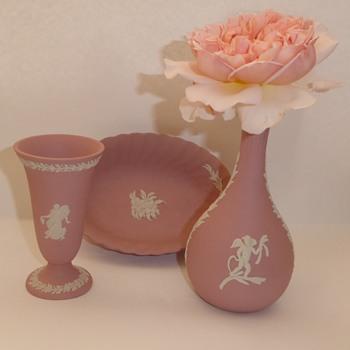 Pink Wedgwood Jasperware - China and Dinnerware