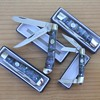 """""""RITE EDGE"""" Brand TRAPPER & STOCKMAN POCKET KNIVES with FAUX ABALONE SCALES"""
