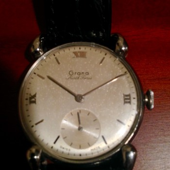 Vintage swiss watch--with box/papers.  New old stock