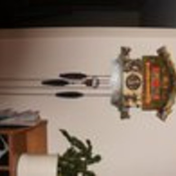 """Eloper"" german cookoo clock, works. I believe its also known as ""farmers daughter"" - Clocks"
