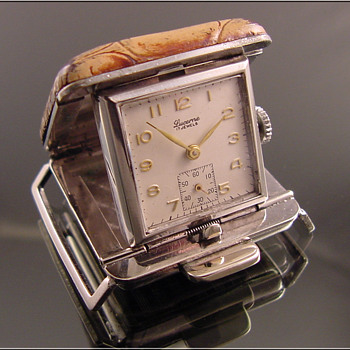 Belt Worn Golfer's Watch Swiss-Made Lucerne