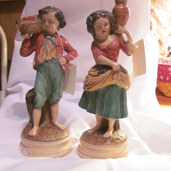 BORGHESE FIGURINES - Art Pottery