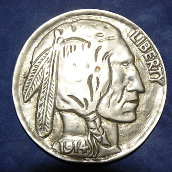 Large Buffalo Nickel
