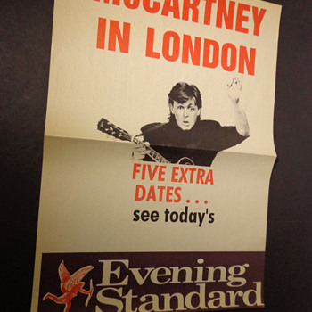 Paul McCartney-news poster-1990 - Music