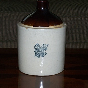 Western Stoneware Gallon Jug - China and Dinnerware